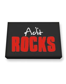 Adit Rocks Canvas square