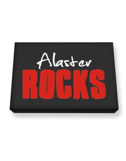 Alaster Rocks Canvas square