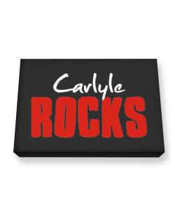 Carlyle Rocks Canvas square