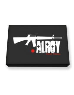 Alroy Street Veteran Canvas square