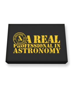 A Real Professional In Astronomy Canvas square