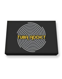 Tuba Addict Canvas square