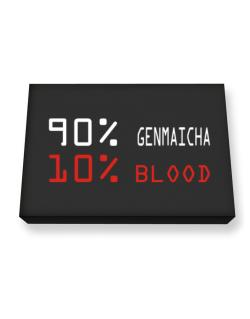 90% Genmaicha 10% Blood Canvas square