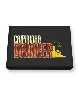 Caipirinha Drinker Canvas square