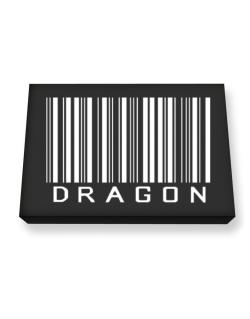 Dragon Barcode / Bar Code Canvas square