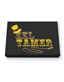 Eel Tamer Canvas square