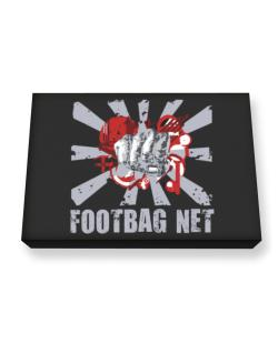 Footbag Net Fist Canvas square