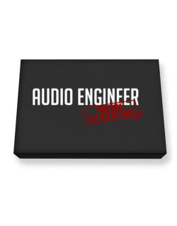 Audio Engineer With Attitude Canvas square