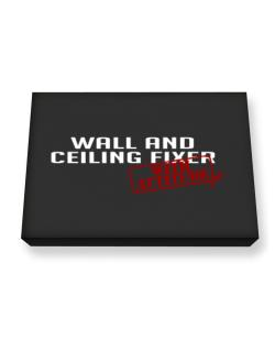 Wall And Ceiling Fixer With Attitude Canvas square