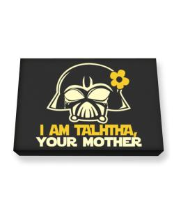 I Am Talitha, Your Mother Canvas square