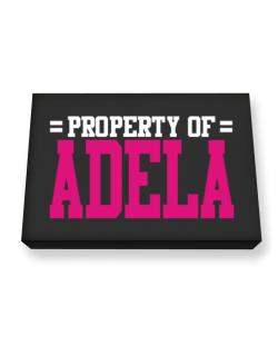 Property Of Adela Canvas square
