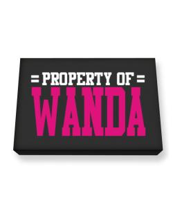 Property Of Wanda Canvas square