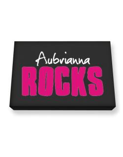 Aubrianna Rocks Canvas square