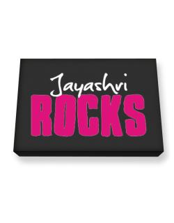 Jayashri Rocks Canvas square