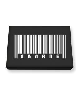 Abarne - Barcode Canvas square
