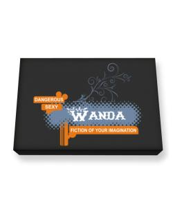 Wanda - Fiction Of Your Imagination Canvas square