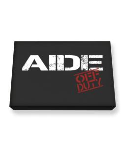 Aide - Off Duty Canvas square