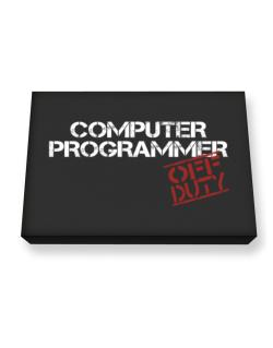 Computer Programmer - Off Duty Canvas square