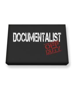 Documentalist - Off Duty Canvas square