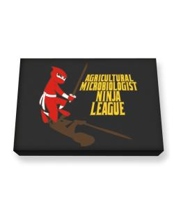 Agricultural Microbiologist Ninja League Canvas square