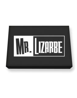 Mr. Lizarbe Canvas square