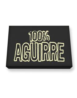 100% Aguirre Canvas square