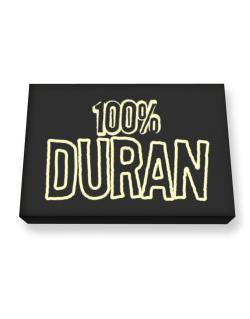 100% Duran Canvas square