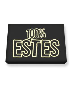 100% Estes Canvas square