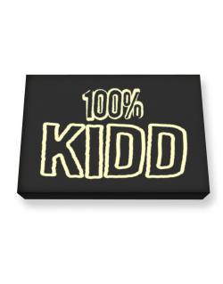 100% Kidd Canvas square