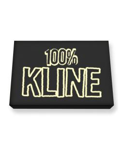 100% Kline Canvas square