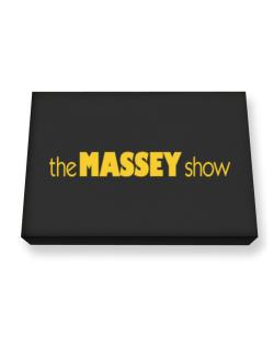 The Massey Show Canvas square
