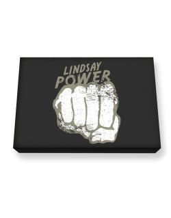Lindsay Power Canvas square
