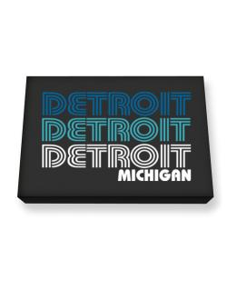 Detroit State Canvas square