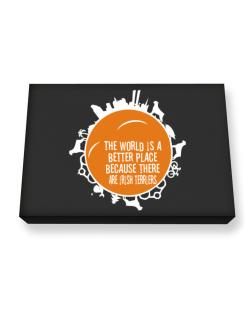 Better Place Irish Terriers Canvas square