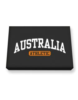 Australia Athletics Canvas square
