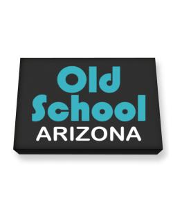 Old School Arizona Canvas square