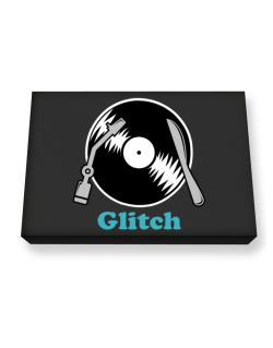 Glitch - Lp Canvas square