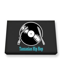 Tanzanian Hip Hop - Lp Canvas square