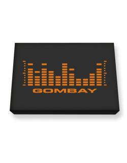 Gombay - Equalizer Canvas square