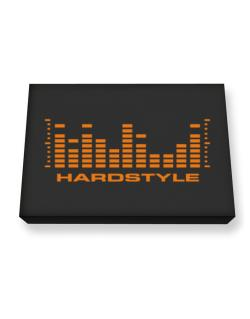 Hardstyle - Equalizer Canvas square