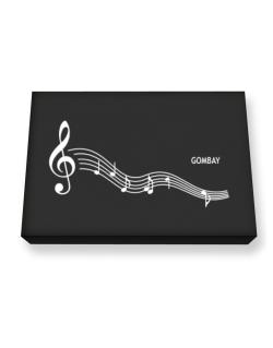 Gombay - Notes Canvas square