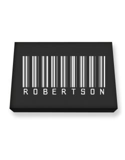 Robertson - Barcode Canvas square