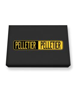 Negative Pelletier Canvas square