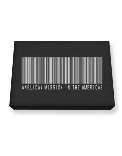 Anglican Mission In The Americas - Barcode Canvas square
