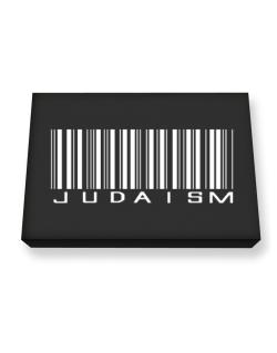 Judaism - Barcode Canvas square