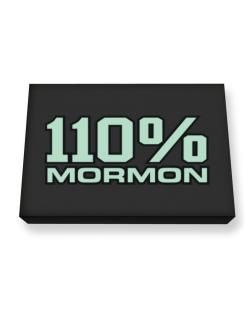 110% Mormon Canvas square