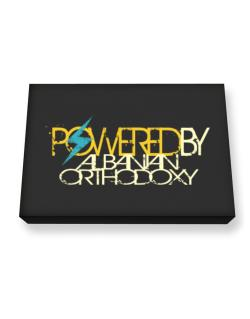 Powered By Albanian Orthodoxy Canvas square