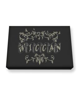 Wiccan Canvas square