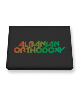Albanian Orthodoxy Canvas square