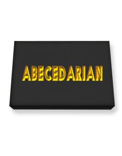 Abecedarian Canvas square